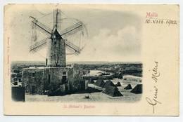 MALTA - St. Michael's Bastion  ( 2 Scans ) - Malta
