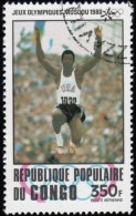 CONGO, PEOPLE'S REPUBLIC - Scott # C274 Moscow '80 Olympic Games / Used Stamp - Summer 1980: Moscow