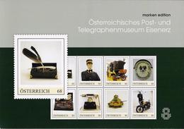 Map Met 8 Zegels Postgeschiedenis - Autriche