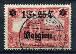 98712) DEUT.BESETZUNG Belgien # 8 Gestempelt Aus 1914, 20.- €