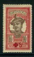 MARTINIQUE ( POSTE ) : Y&T N°   105  TIMBRE  NEUF  SANS  TRACE  DE  CHARNIERE , A  VOIR .