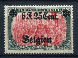 98721) DEUT.BESETZUNG Belgien # 25 Gefalzt Aus 1916, 60.- €