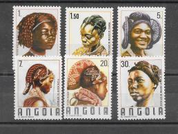 Angola 1987 Y&T Nr° 734/739 (**) - Angola