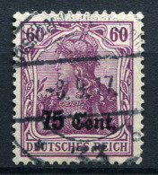 98725) DEUT.BESETZUNG Etappengebiet West # 9 Gestempelt Aus 1916, 20.- €