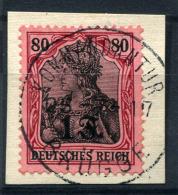 98726) DEUT.BESETZUNG Etappengebiet West # 10 Gestempelt Aus 1916, 30.- €
