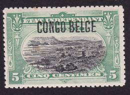 Congo - COB 40-48 - 1909