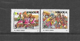 Angola 1988  10 Verjaardag Carnaval De Victoria(**)