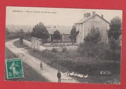 Bonneuil --  Maison D Ecole --  Route De Lussac  -- - France