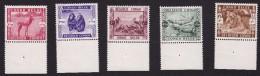 Congo - COB 209-213 - 1939