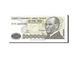 Turquie, 10 Lira, 1970, KM:193a, Undated, NEUF - Turchia