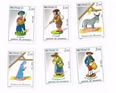 Lot De 6 Santons De Provence MNH,Neufs Sans Charnière