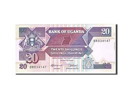 Uganda, 20 Shillings, 1988, KM:29b, Undated, NEUF - Ouganda