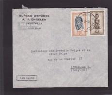 Lettre.Congo-Belge.cachet De Jadotville.