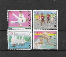 Angola 1991  Y&T Nr° 832/835 (**)