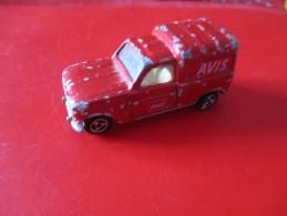 VOITURE MAJORETTE ( Renault 4 L Avis ) - Toy Memorabilia