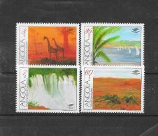 Angola 1991  Y&T Nr° 850/853 (**) - Angola
