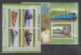 C13 Togo - MNH - Transport - Trains - 2010