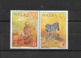 Angola 1991  Y&T Nr° 836/837 (**) - Angola