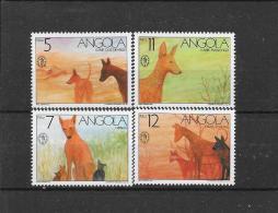 Angola 1991  Y&T Nr° 828/831 (**)