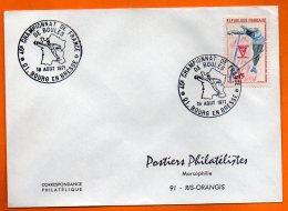 01 BOURG EN BRESSE  CHAMPIONNAT DE FRANCE 1971 Lettre Entière N° O 256