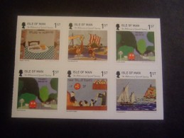 ISLE OF MAN 2015 EUROPE (HALF BOOKLET FOR ALBUM MNH **   (013002-332)