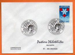 82 CAUSADE  4° TOURNOI 1973 Lettre Entière N° O 261