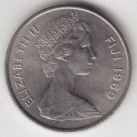 @Y@    Fiji    5 Cents  1969   BU Coin    (3382 ) - Fiji