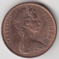 @Y@    Fiji    2 Cents  1969   BU Coin    (3383 ) - Fiji