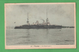 Marina Francese Nave Sain Louis Navire Ship Porto Toulon - Barche