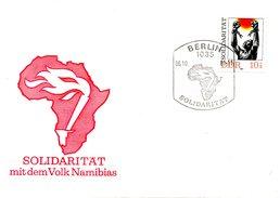 RDA. N°2302 De 1981 Sur Enveloppe 1er Jour. Namibie.