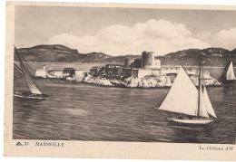 MARSEILLE  Le Château Et Voiliers - TTB
