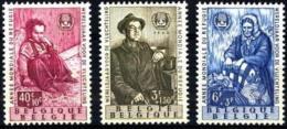 Bélgica 1960 AÑO MUNDIAL DEL REFUGIADO Mi:BE 1182/84, Sn:BE B660/62, Yt:BE 1125/27, Bel:BE 1125/27 -set -  MNH**