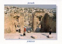 1 AK Jordanien Jordan * Ansicht Von Jerash - Im Vordergrund Die Antike Stadt Gerasa (auch Jerash Geschrieben)