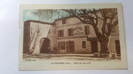 SAINT ZACHARIE 83 HOTEL DU LION D'OR VAR CPA Animee Postacard - Saint-Zacharie