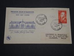 FRANCE - Enveloppe F.D.C. De Jules Ferry En 1951 , Cote 225€ - A Voir - L 4949 - FDC