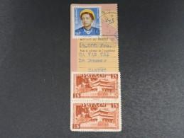VIET NAM - Coupon De Mandat De Binh Cantho En 1954 - A Voir - L 4960 - Viêt-Nam