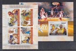 D13 Togo - MNH - Sports - Basketball - 2010