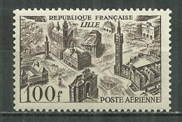 FRANCE MNH ** Poste Aérienne PA 24 Vue De Ville LILLE - Poste Aérienne