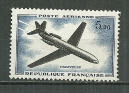 FRANCE MNH ** Poste Aérienne PA 40 Prototype Sud Aviation Caravelle Avion