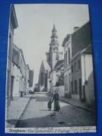 DIEGHEM : Vue Générale, L'église En 1903 - Diegem
