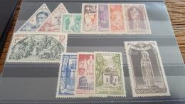 LOT 329176 TIMBRE DE MONACO NEUF** N°353 A 364 VALEUR 110 EUROS