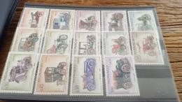 LOT 329188 TIMBRE DE MONACO NEUF** N°557 A 570 VALEUR 25,5 EUROS