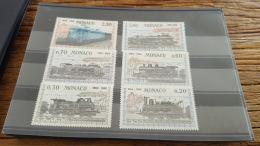 LOT 329195 TIMBRE DE MONACO NEUF** N°752 A 757 VALEUR 20 EUROS
