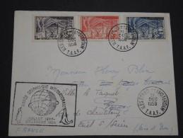 T.A.A.F. - Env. Des îles St Paul Et Amsterdam Pour La France En 1958 , Affra.et Cachets Plaisants - A Voir - L 4976 - Lettres & Documents