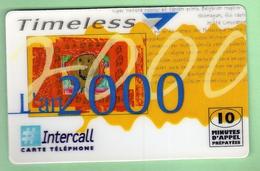 INTERCALL N°80 *** 10 Unites *** 5400 Ex *** (A100-P17) - Altre Schede Prepagate