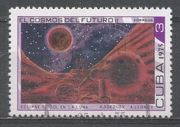 Cuba 1975. Scott #1966 (U) The Future Of Space, Eclipse * - Cuba