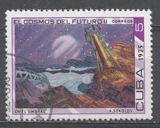 Cuba 1975. Scott #1967 (U) The Future Of Space, Threshold To Space * - Cuba