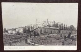 MONTECOLOMBO RIMINI  PANORAMA ED. DANESI ROMA VIAGGIATA  NEL 1914 - Rimini