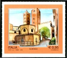 """ITALIA / ITALY 2016** - Turismo - """"Albenga"""" - 1 Val. MNH Autoadesivo Come Da Scansione - 6. 1946-.. Republik"""