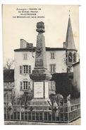 SAINT-CIRGUES (cpa 63)  Le Monument Aux Morts -    - L 1